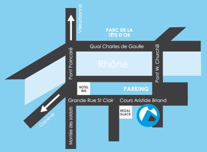 plan d'accès Planève Vélo